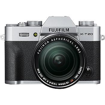 FUJIFILM ミラーレス一眼カメラ X-T20 レンズキットシルバー X-T20LK-S