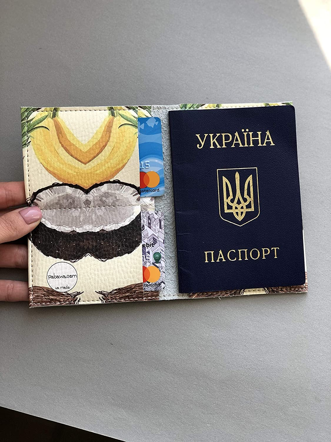 Passport Holder with fruits Free Shipping Cheap Bargain Gift credit driver wa cards cover license Wholesale