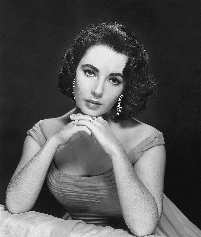 Elizabeth High material Taylor Portrait Photo Hollywood Photos Elegant 8x10 Art