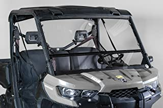 Can-Am Defender Full Tilting Windshield - Made in the USA!.