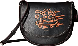 Keith Haring Hudson Leather Crossbody