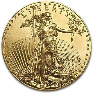 2015 1 oz Gold American Eagle BU 1 OZ Brilliant Uncirculated