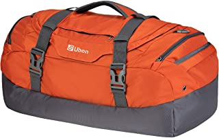 Large Duffel Bag Weekender Bags with Shoe Compartments 55L 65L for Men Women