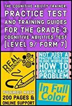 The Cognitive Ability Trainer, Practice Test and Training Guides for the Grade 3 Cognitive Abilities Test (Level 9/ Form 7...