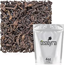 Tealyra - 1990's Rare Wild Arbor Ripe Pu'erh Tea - Best Chinese Puerh Loose Leaf Tea - Aged Yunnan Shou Cha - Gongfu Cha - Bold Caffeine - 112g (4-ounce)