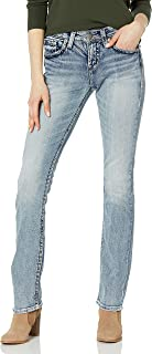 Women's Suki Curvy Fit High Rise Baby Bootcut Jean