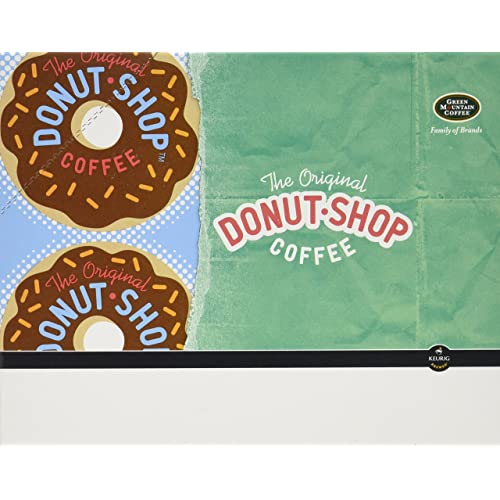 Keurig, The Original Donut Shop, K-Cup Packs, Portion Pack for Keurig K-Cup Brewers, 24-Count (Including Keurig 2.0)