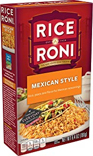 Rice A Roni Rice & Pasta With Tomato, Mild Green Chiles & Mexican-Style Seasonings, 6.4 oz