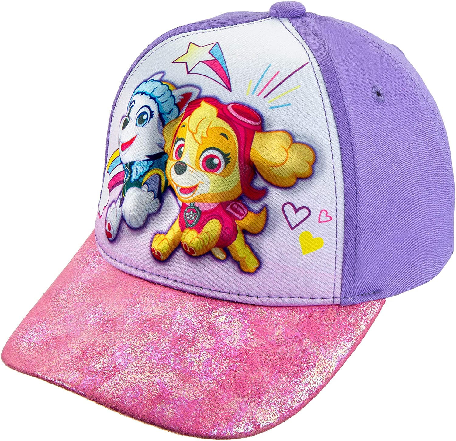 Nickelodeon Now on sale Toddler Safety and trust Girls' Paw Patrol Cotton Baseball Cap 3D Hat