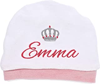 Cappello nascita - cappellino per neonati con ricami personalizzabili - puoi scegliere tu il nome e il disegno da ricamare