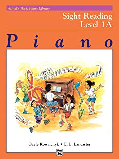 Alfred'S Basic Piano Library Sight Reading Book 1a