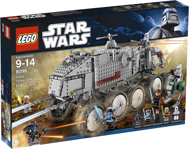 LEGO Star Wars Clone Turbo Tank Baukasten–-Spiele BAU (Mehrfarbig, 9Jahr (S), Film, 14Jahr (S))