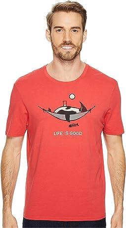 Life is Good - Penguin Hammock Smooth Tee