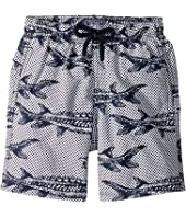 Vilebrequin Kids - Belle Ou Gars Jim Fish Printed Trunks (Toddler/Little Kids/Big Kids)