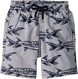 Belle Ou Gars Jim Fish Printed Trunks (Toddler/Little Kids/Big Kids)