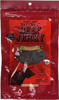 Trader Joe's Natural Beef Jerky Original Flavor 4 Ounce Package (Original)