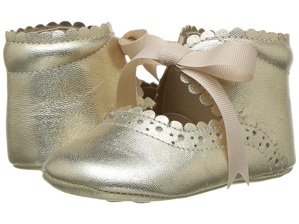 Elephantito Sabrinas (Infant/Toddler) (Gold) Girls Shoes