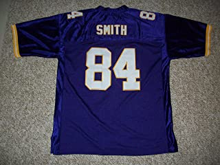 IRV Smith Jr. Unsigned Custom Sewn Minnesota Purple New Football Jersey Size S, M,L,XL,2XL,3XL