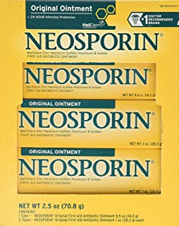 Neosporin Original Ointment First Aid Antibiotic Treatment 3 Pack Value Pack
