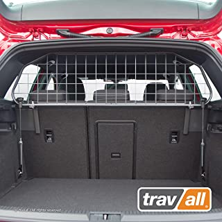 Travall Guard Compatible with Volkswagen Golf Hatchback (2012-Current) Golf GTE R and e-Golf TDG1409 - Rattle-Free Luggage and Pet Barrier