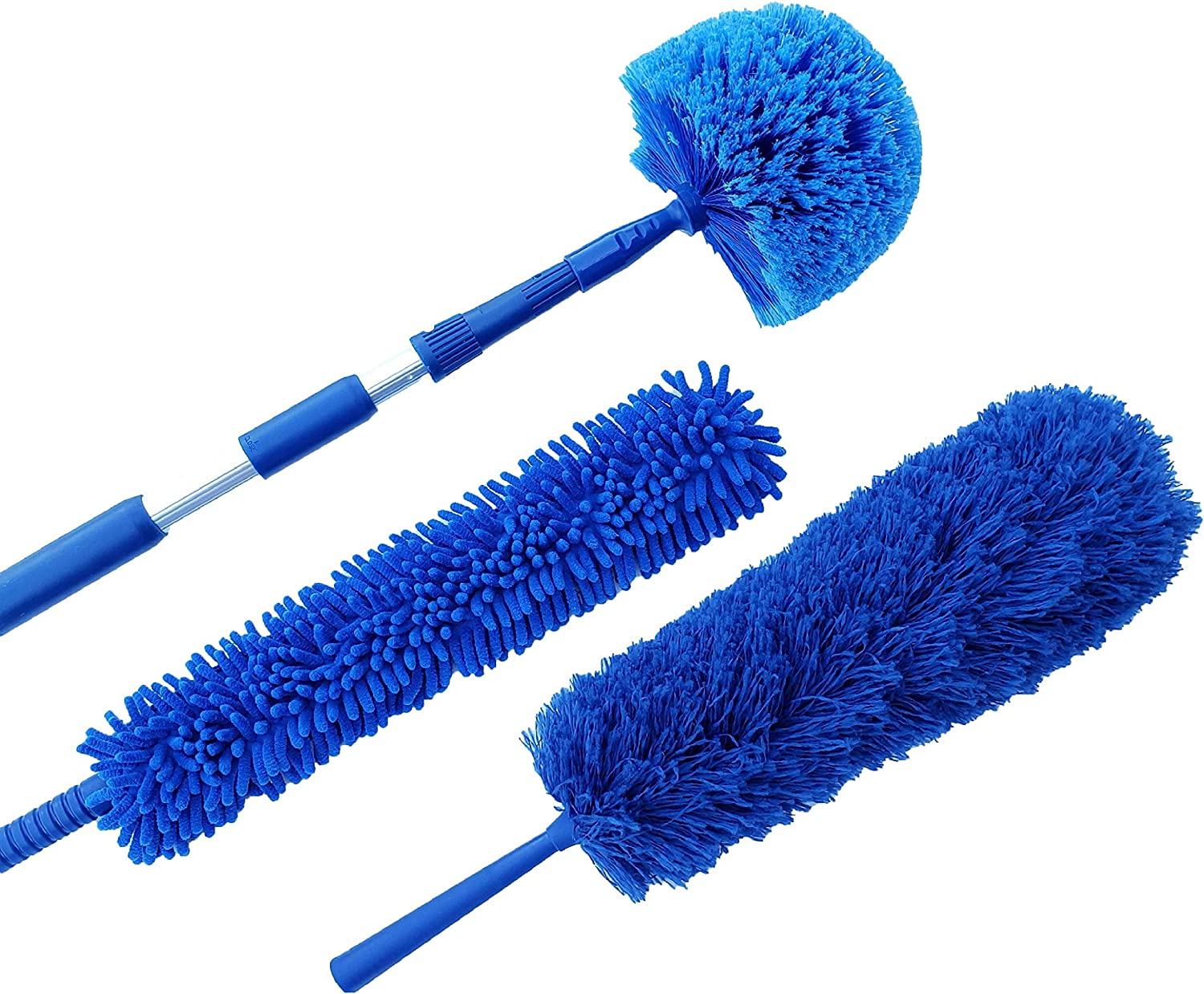 U.S. Duster Company Triple Action 日本 18 with Dusting Microfiber NEW Kit