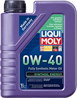 Best Liqui Moly 2049 Synthoil Energy 0W-40 Motor Oil - 1 Liter Bottle Review