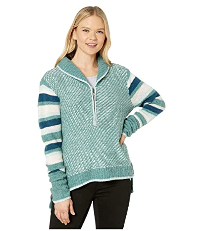 Smartwool CHUP Potlach 1/2 Zip Sweater (Frosty Green Heather) Women