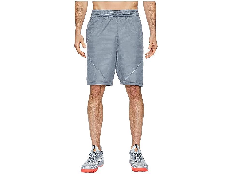 Nike Dry 9 Basketball Short (Cool Grey/Cool Grey/White) Men