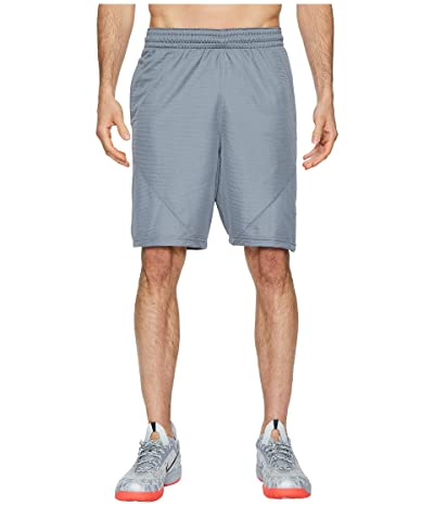 Nike Dry 9 Basketball Short (Cool Grey/Cool Grey/White) Men