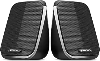 (Renewed) Zebronics Zeb-Fame 2.0 Multi Media Speakers with AUX, USB and Volume Control (Black)