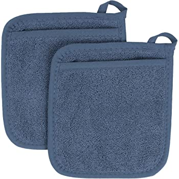 4-Pack Ritz Royale Collection 100/% Cotton Terry Cloth Mitz Dual-Function