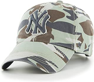 New York Yankees Camo '47 Brand Tarpoon Adjustable Hat