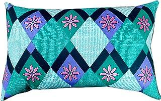 "Ozone Mattress-Organic Silk Cotton /kapok / Ilavam Panju / Semal Cotton Pillow Size:25"" x 15"" inches. Multicolor."