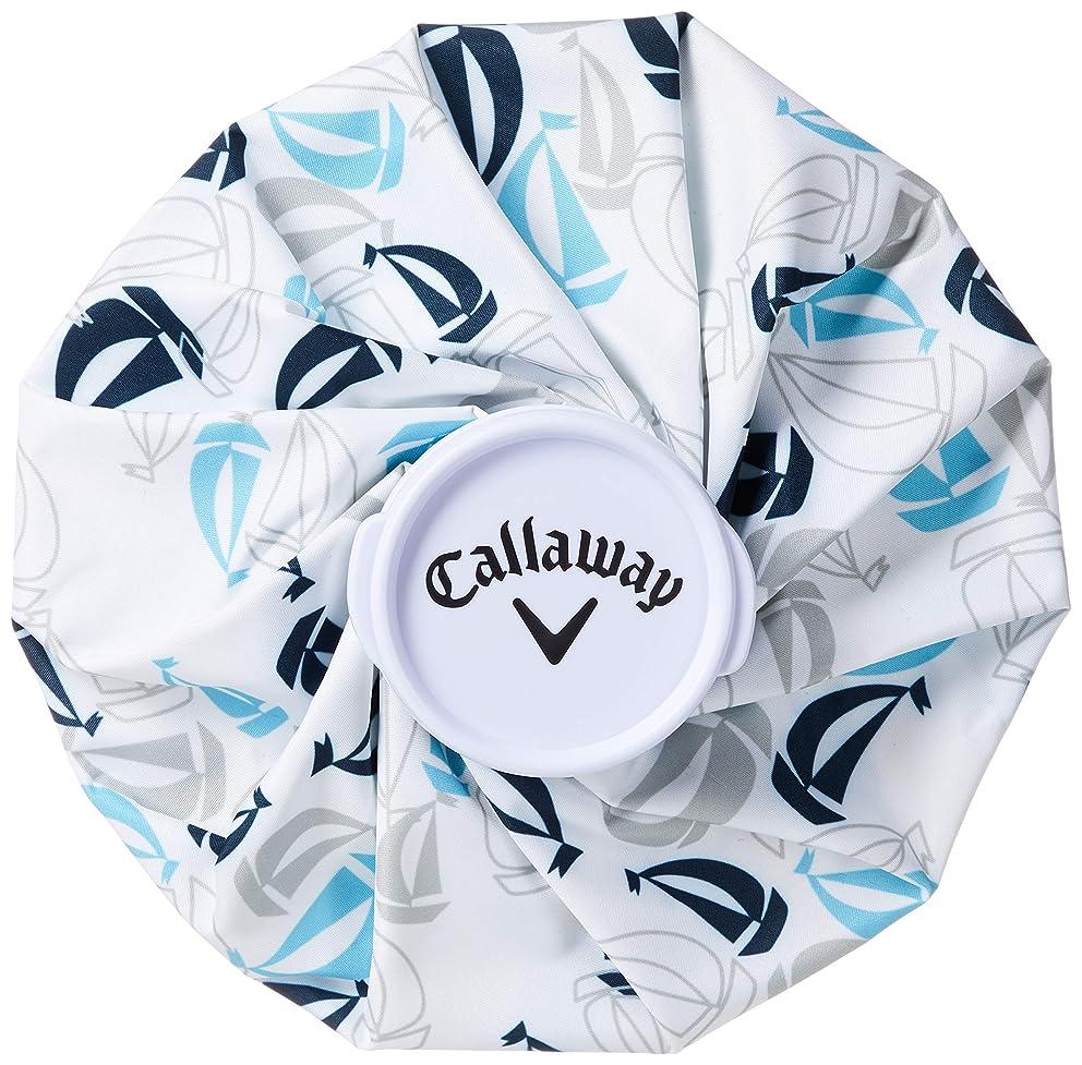 チャールズキージング織る事前[キャロウェイアパレル] 氷嚢 (ヨットプリント柄) [ 241-9186503 / ICE PACK ] アイシング ゴルフ かわいい
