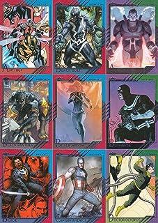 Humor Marvel Flair Annual 1995 Fleer Near Complete Base Card Set Non-sport Trading Cards