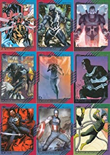 MARVEL FLEER RETRO 2015 UPPER DECK COMPLETE BASE CARD SET OF 60
