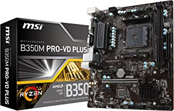 MSI B350M PRO-VD Plus Motherboards