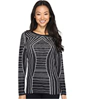 NIC+ZOE - Reversible Urban Stripe Top
