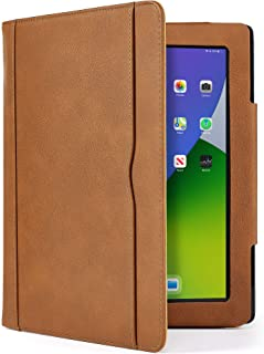 S-Tech iPad Air Case (4th Generation 2020 Model) Soft Leather Wallet Magnetic Smart Cover with Sleep/ Wake Feature Flip Fo...