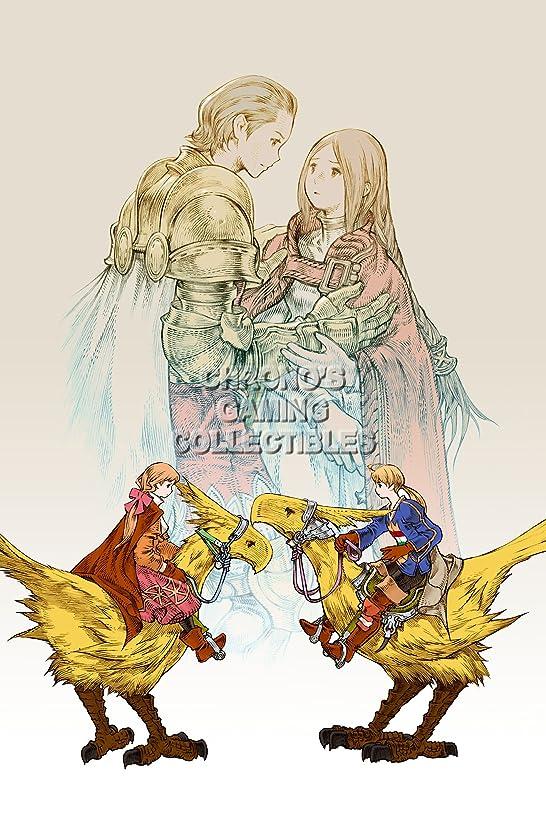 Final Fantasy CGC Huge Poster Tactics PS1 PS2 PSP Vita Nintendo DS GBA - FTA008 (24