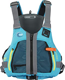 MTI Destiny Women's Life Jacket - Tropical Blue/Light Gray - LG/XL (40-48