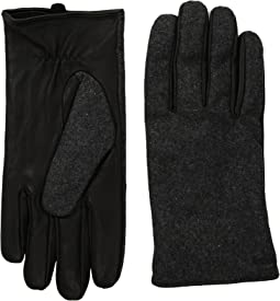 Scotch & Soda - Mix & Match Wool/Leather Gloves