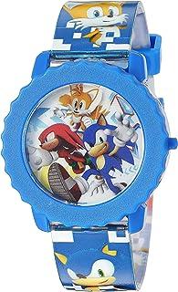 ساعة رقمية كوارتز بلون زرقاء للاولاد من سونيك ذا هيدجهوج - SNC4028