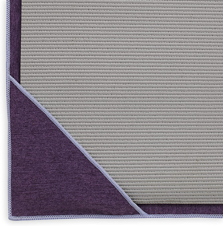 Stay-Put Corner Pockets Gaiam Yoga Towel 70 Long x 26 Wide Mat Sized Active Dry Non Slip Moisture Wicking Sweat Absorbent Microfiber Hot Yoga Towel for Women /& Men