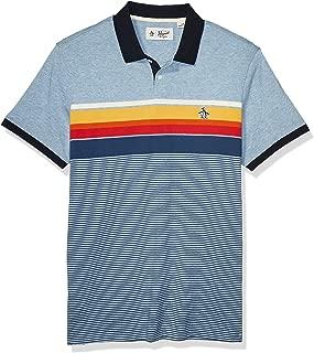 Men's Short Sleeve Stripe Polo