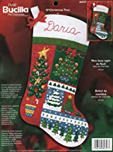 Bucilla Christmas Patchwork Gingerbread Felt Stocking Kit 18 84942