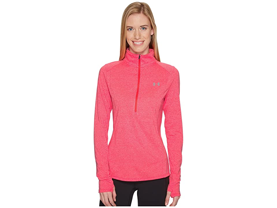 Under Armour Threadborne Train Twist 1/2 Zip (Marathon Red/Steel) Women