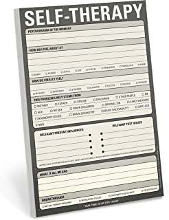 Knock Knock Self-Therapy Checklist Note Pad, 6 x 9-inches