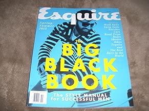 ESQUIRE-THE BIG BLACK BOOK-SPRING/SUMMER 2015-MEN'S FASHION GUIDE