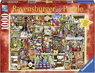 Ravensburger Christmas Cupboard 1000 Piece Jigsaw Puzzle for Adults – Every piece is unique, Softclick technology Means Pieces Fit Together Perfectly